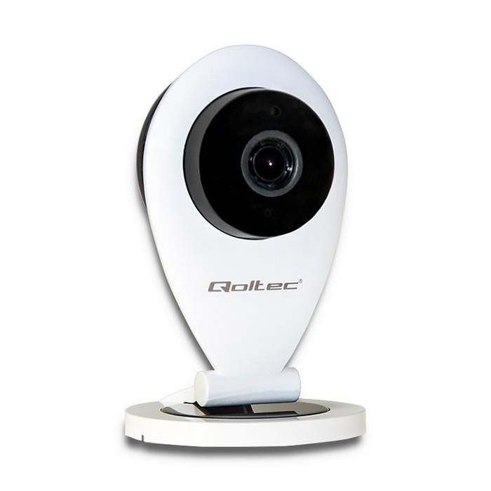 Qoltec IP Camera| HD | IR | WiFi | night/day