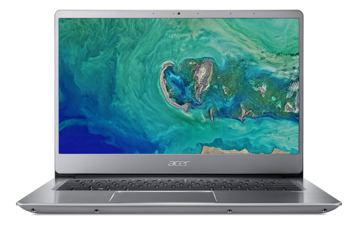 "Acer Swift 3 (SF314-54-34U2) i3-7020U/4GB+N/128GB SSD M.2+N/HD Graphics/14"" FHD IPS LED matný/BT/W 10 Home in S mode/Silve"