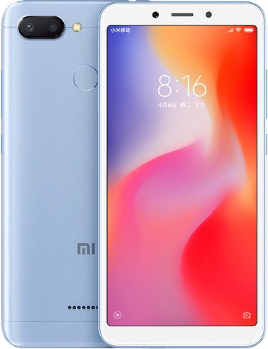 Xiaomi Redmi 6 (4GB/64GB) Blue