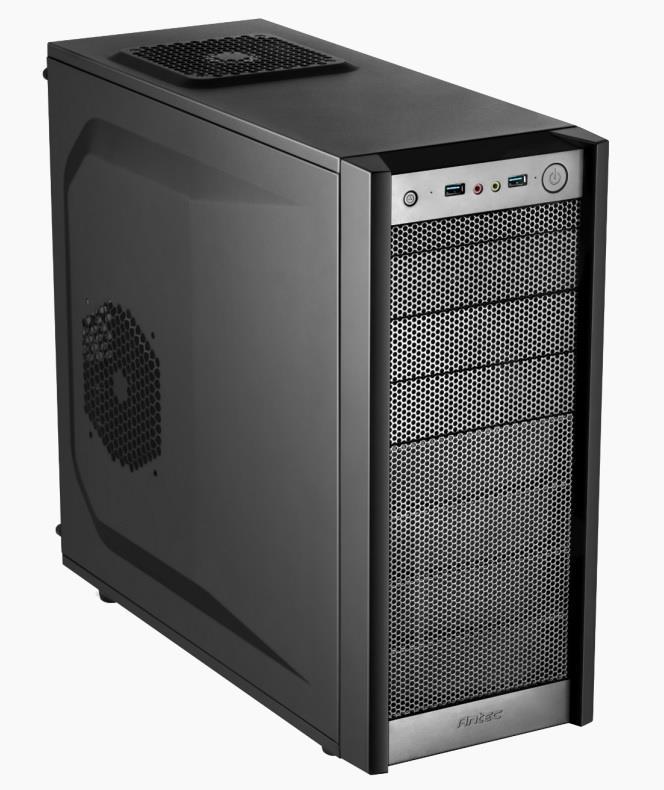 PC case Antec ONE, black