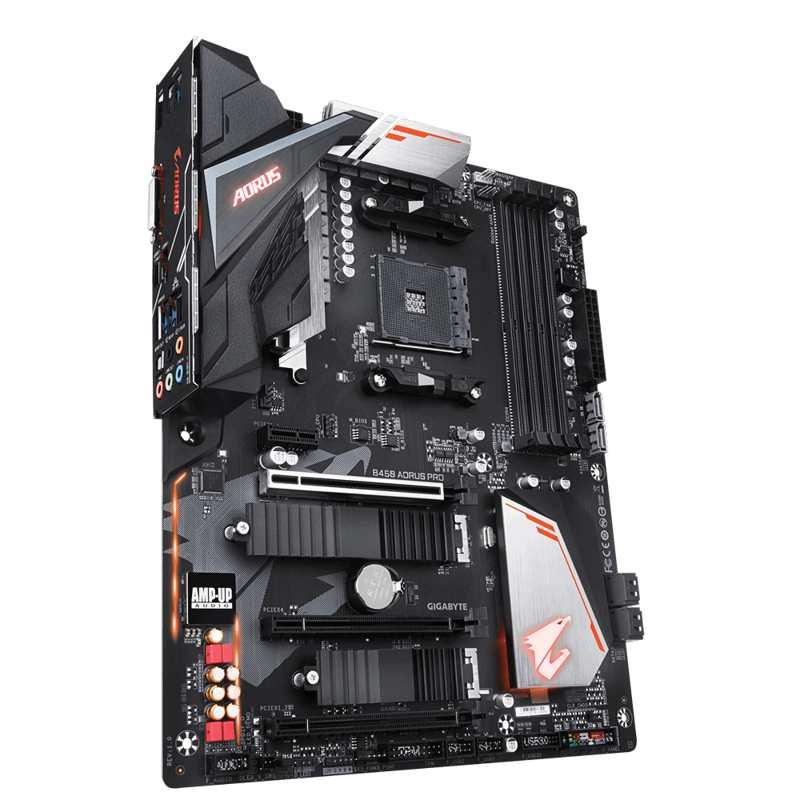 GIGABYTE MB Sc AM4 B450 AORUS PRO, AMD B450