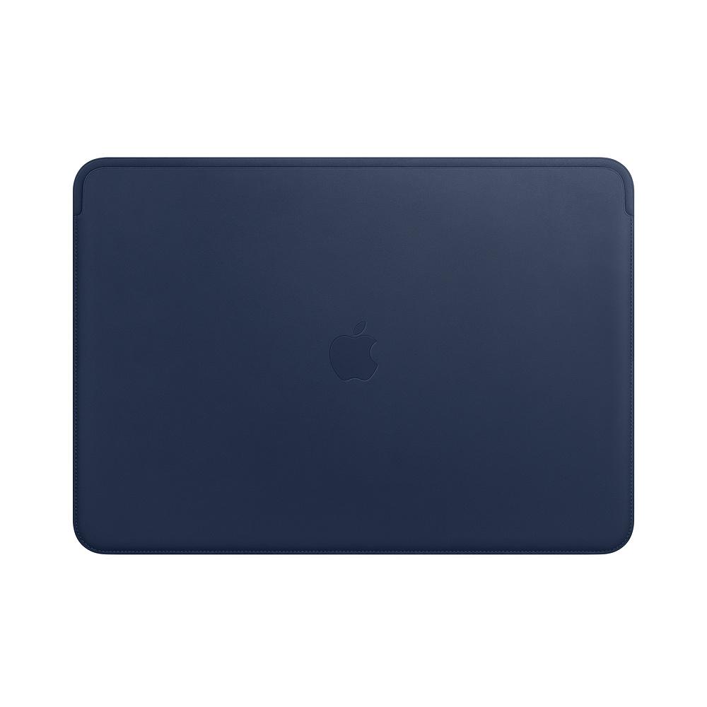 Leather Sleeve pro MacBook Pro 15 - Midnight Blue
