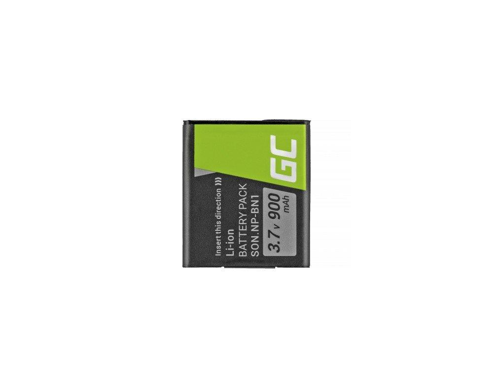 Baterie Green Cell ® NP-BN1 pro Sony Cyber-Shot DSC-QX10 DSC-QX100 DSC-TF1 DSC-T