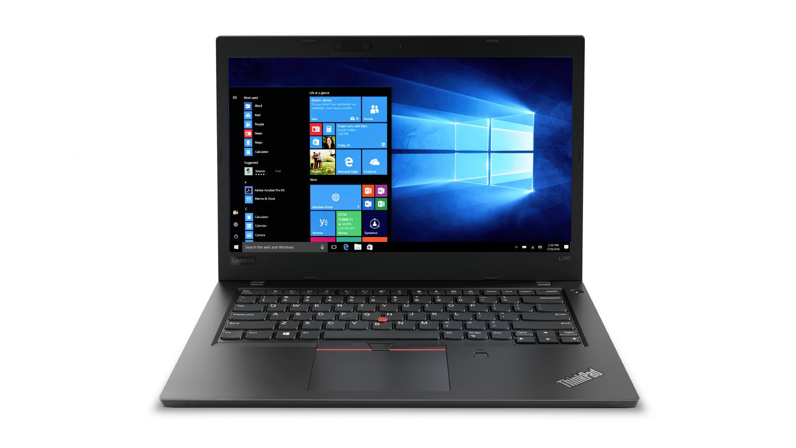 """Lenovo ThinkPad L480 i7-8550U/16GB/512GB SSD/UHD Graphics 620/14""""FHD IPS/4G/W10PRO/Black"""