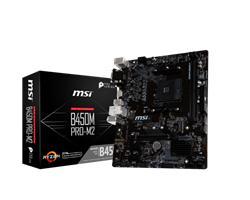 MSI MB Sc AM4 B450M PRO-M2, AMD B450, VGA, 2xDDR4, m-ATX