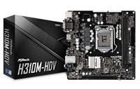 ASROCK MB H310M-HDV (intel 1151 coffee lake, 2x DDR4 2666, GLAN, SATA3, USB3.0, VGA +DVI+HDMI, mATX) pro intel coffee lake