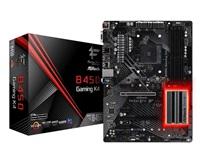 ASROCK MB B450 GAMING K4 (AM4, amd B450, 4xDDR4 3200, 6xSATA3, 7.1, VGA+HDMI +DPort, USB3.1, ATX)