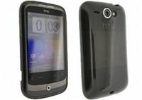 Puro zadní kryt Plasma pro HTC Wildfire, černá