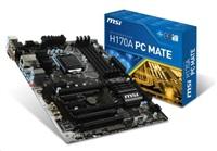 BAZAR - MSI MB Sc LGA1151 H170A PC MATE, Intel H170, 4xDDR4, GbLAN, ATX repair (v krabici)-BAZAR