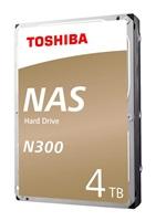 "TOSHIBA HDD N300 NAS 4TB, SATA III, 7200 rpm, 128MB cache, 3,5"""