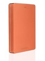 """TOSHIBA HDD CANVIO ALU 2TB, 2,5"""", USB 3.0, červený"""