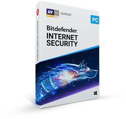 Bitdefender Internet Security 2019, 5 PC, 12 měsíců - (ESD)