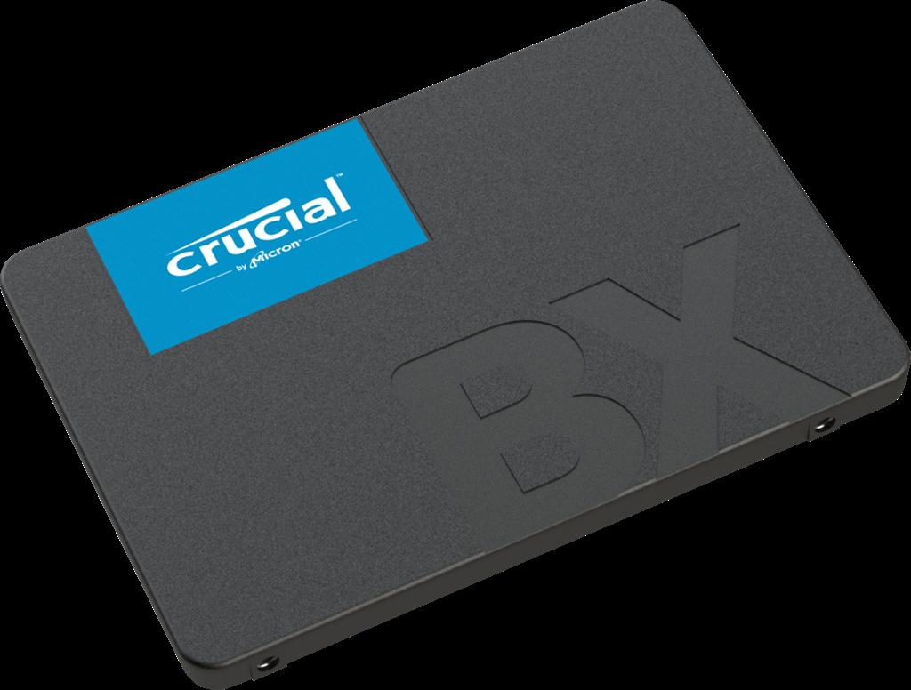"""Crucial SSD 120GB BX500 SATA III 2.5"""" 3D TLC 7mm (čtení/zápis: 540/500MB/s)"""