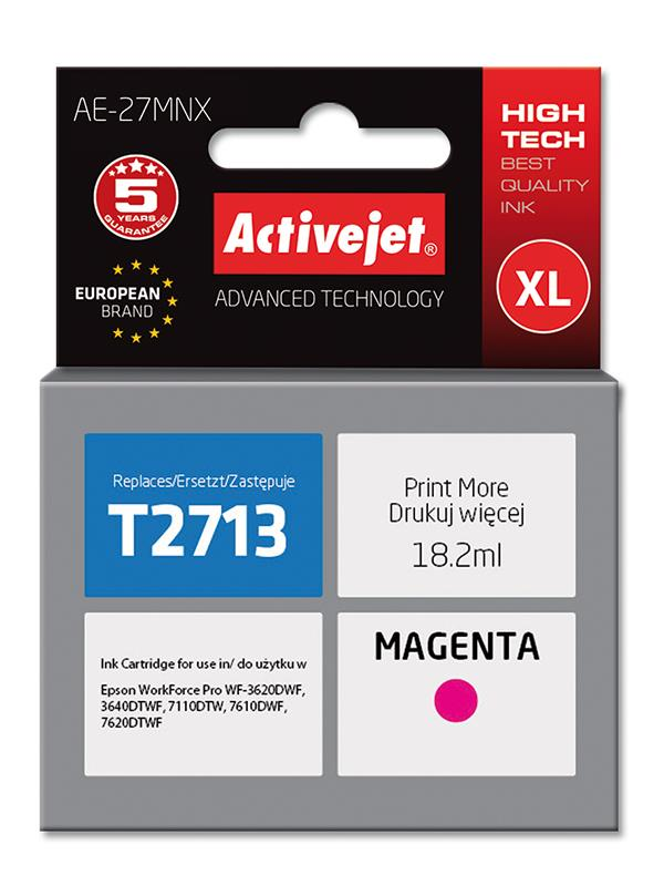 ActiveJet ink Epson T2713 new AE-27MNX 18 ml