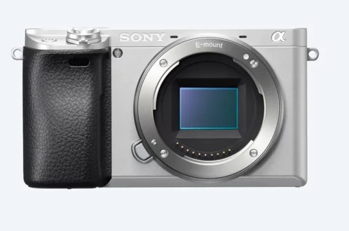 Sony A6300L+SEL-P1650, 24,2Mpix/4K video, stříbrný