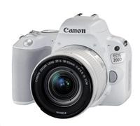 Canon EOS 200D zrcadlovka - tělo (bílé) + 18-55 IS STM