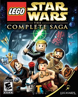 ESD LEGO Star Wars The Complete Saga