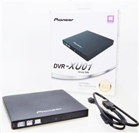 PIONEER externí mechanika DVD-RW Rewriter Black BULK (DVR-XU01T)