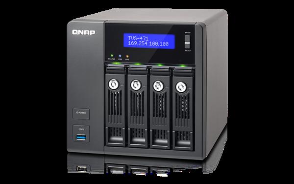 QNAP TVS-471-i3-4G (3,5G/4GB RAM/4xSATA)