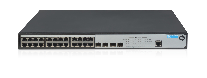 HPE 1920 24G PoE+ (370W) Switch