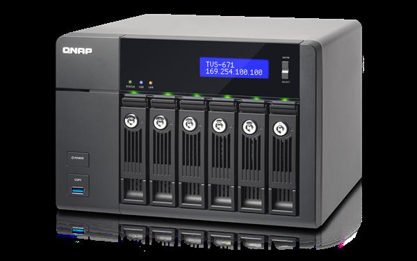 QNAP TVS-671-i3-4G (3,5G/4GB RAM/6xSATA)