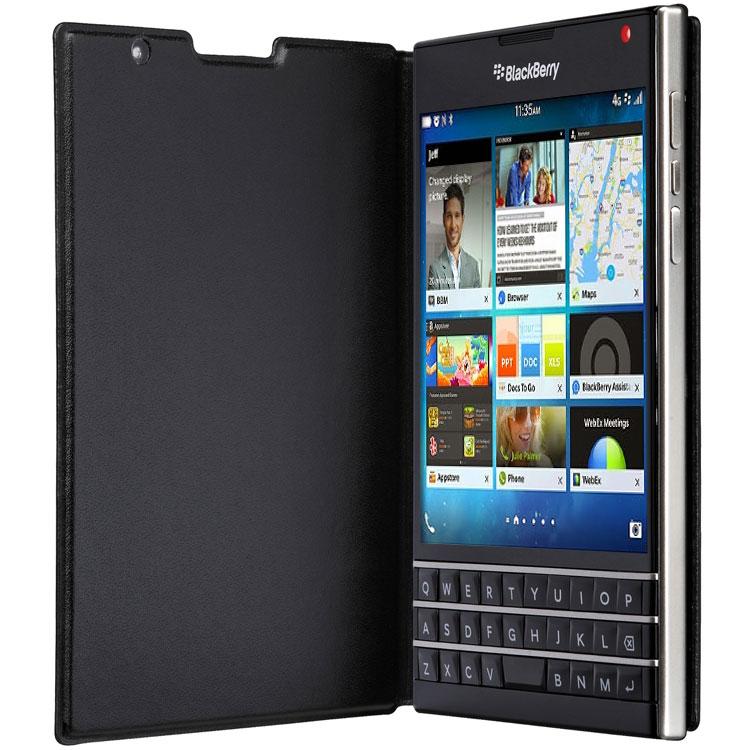 BlackBerry flip pouzdro pro Passport černá