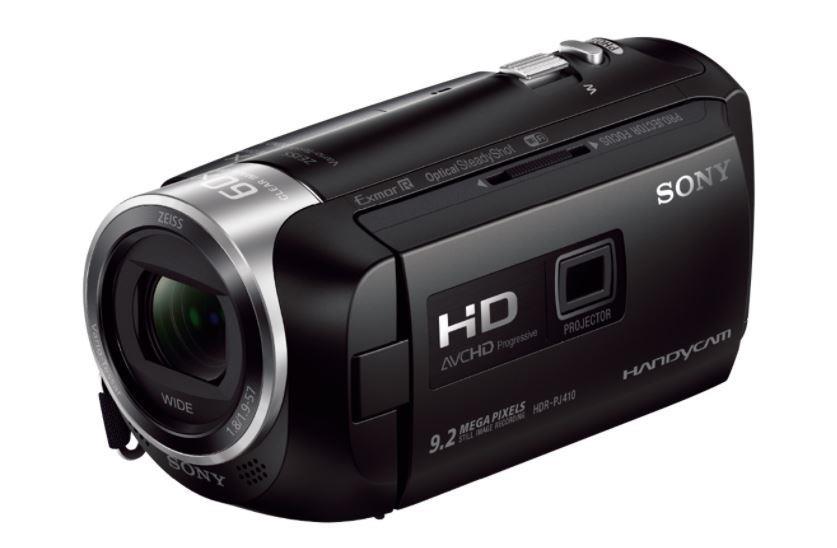 SONY HDR-PJ410 – videokamera Handycam® s vestavěným projektorem