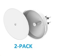 UBNT airMAX PowerBeam5 AC ISO 2x27dBi, 2-PACK [500mm, Client/AP/Repeater, 5GHz, 802.11ac, 10/100/1000 Ethernet]