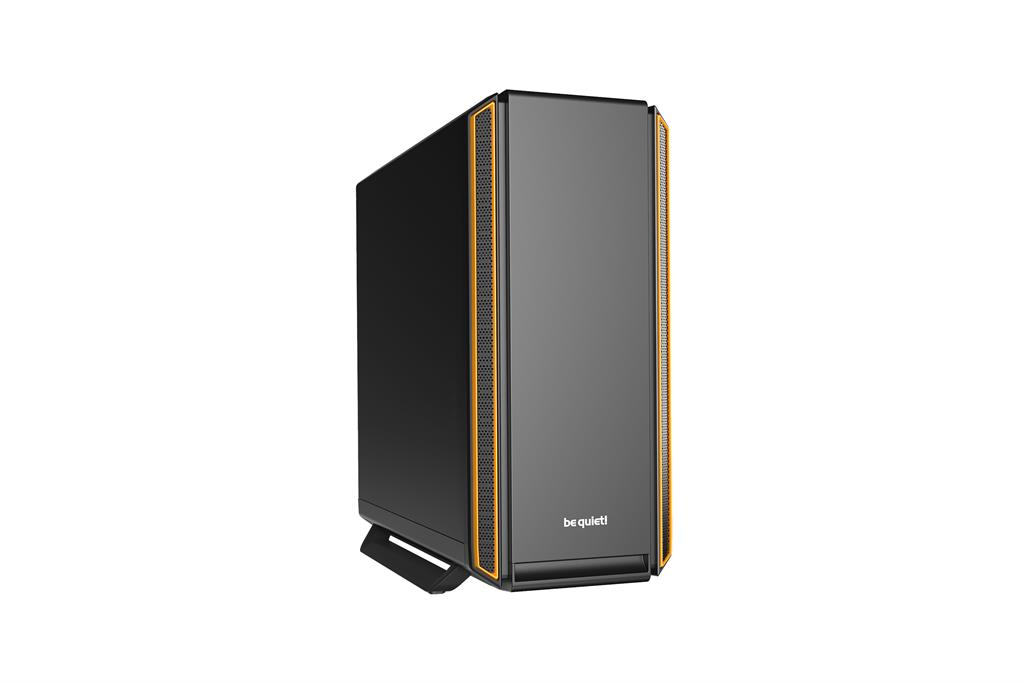 be quiet! Silent Base 801, orange, ATX, micro-ATX, mini-ITX case