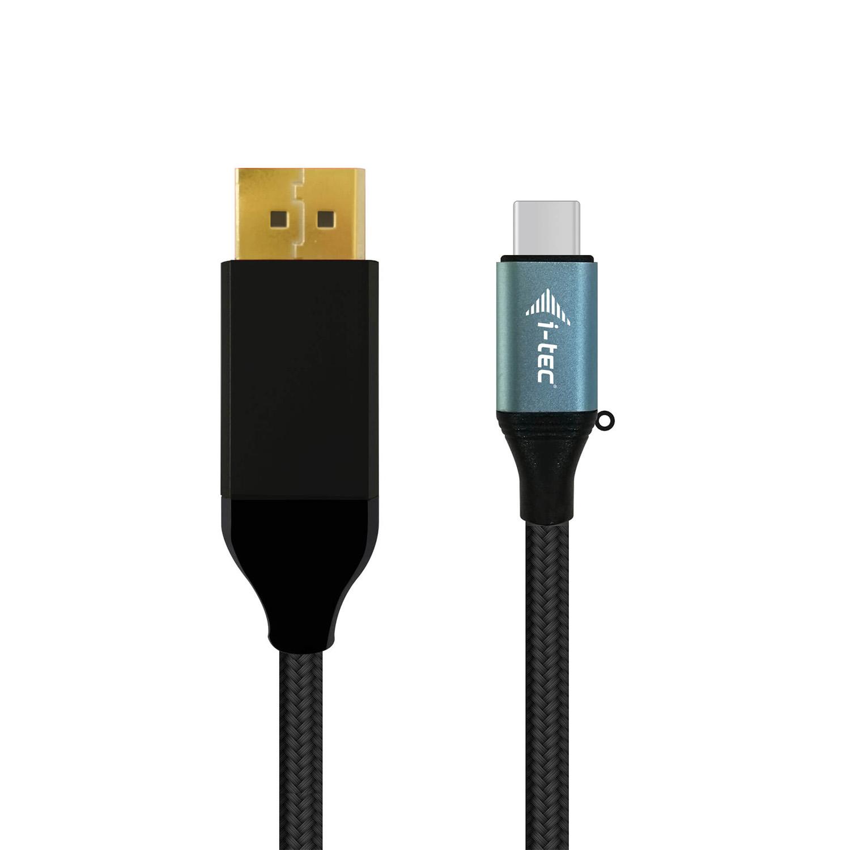 i-tec USB-C DisplayPort Kabelový Adaptér 4K/60Hz 1.5m