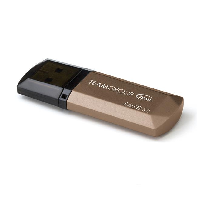 TEAMGROUP TC155364GD01 Team Group Flash disk C155 64GB USB 3.0 zlatá