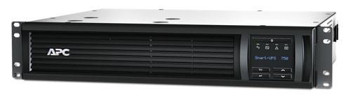 APC Smart-UPS 750VA LCD RM 2U 500W, hloubka 406 mm, SmartConnect
