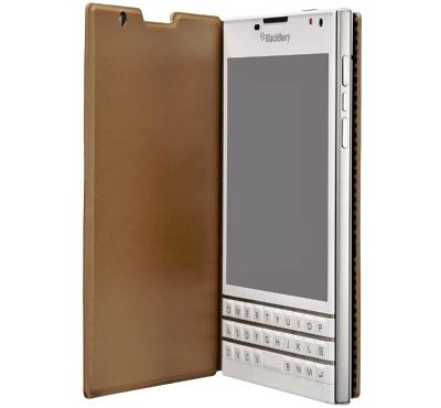 BlackBerry flip pouzdro pro Passport Hnědá