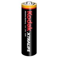 KODAK XTRALIFE alkalická baterie AA; 4ks