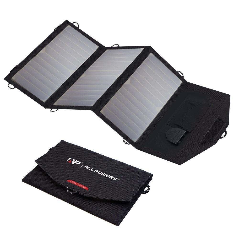 Allpowers SP18V21W Solární Dobíječ 21W