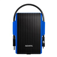 "ADATA Externí HDD 2TB 2,5"" USB 3.1 DashDrive™ Durable HD725, modrý (blue)"