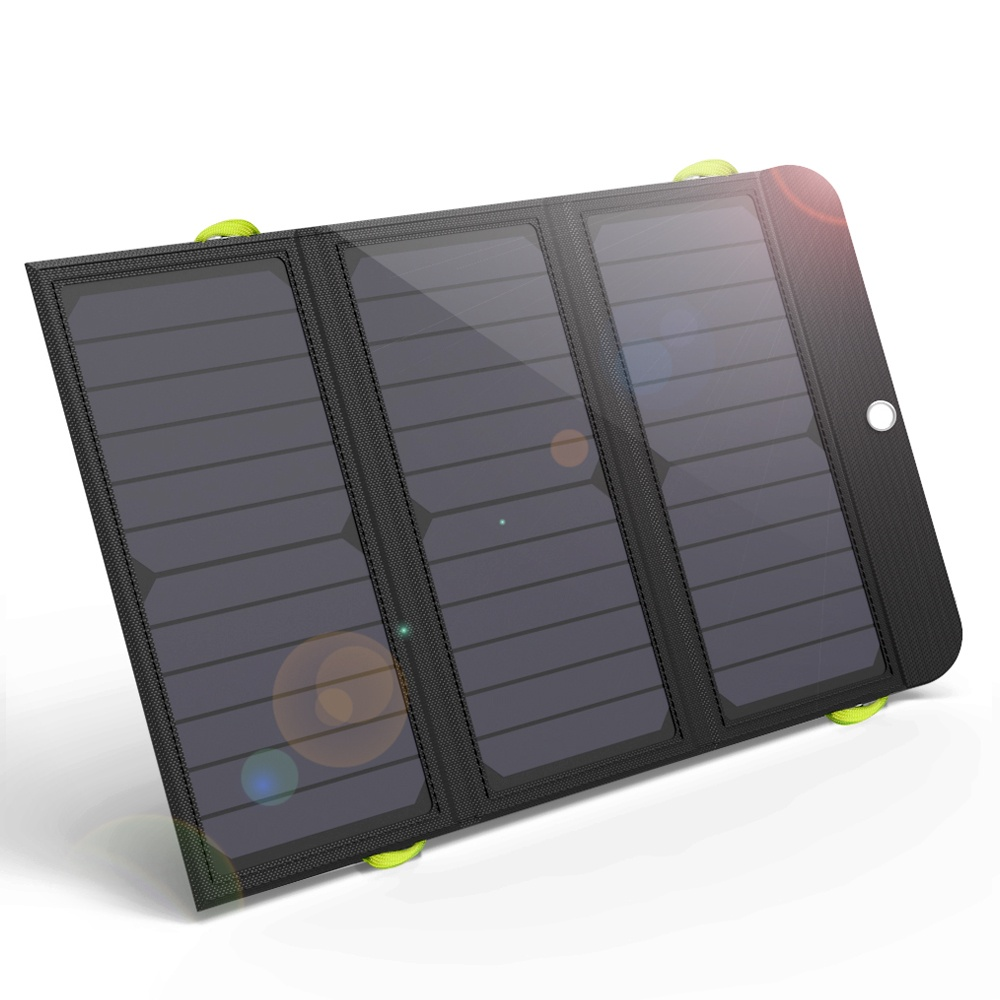 Allpowers AP-SP-002-BLA Solární Dobíječ 21W + 6000mAh PowerBank