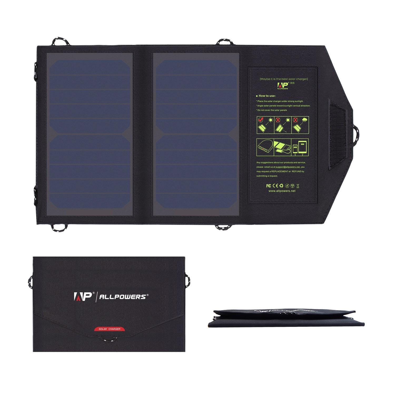 Allpowers SP5V10W Solární Dobíječ 10W