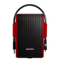"""ADATA Externí HDD 2TB 2,5"""" USB 3.1 DashDrive™ Durable HD725, červený (red)"""