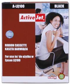 Páska ActiveJet A-LQ100 | 8mm*1,6m | Epson S015032