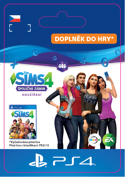 ESD CZ PS4 - The Sims™ 4 Get Together