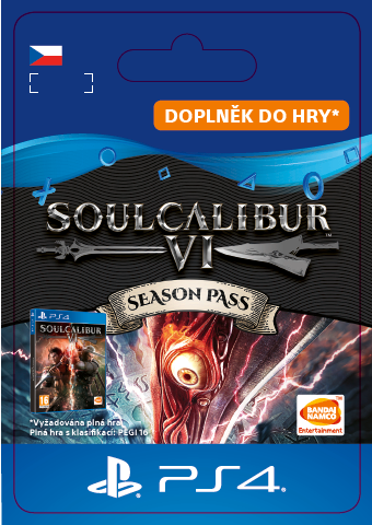 ESD CZ PS4 - SOULCALIBUR VI Season Pass