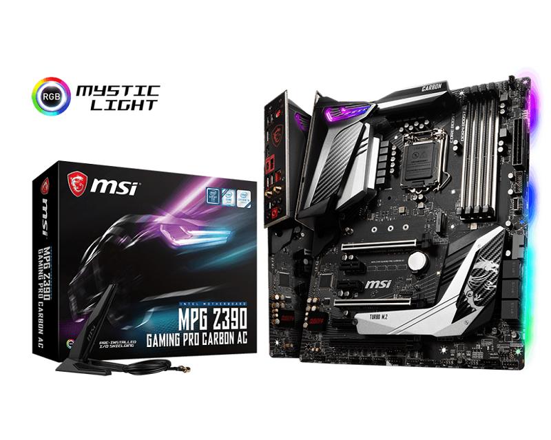 MSI MPG Z390I GAMING EDGE AC, 2x DDR4 4600, 1X HDMI/DP, Mini-ITX