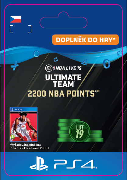 ESD CZ PS4 - 2200 NBA Points