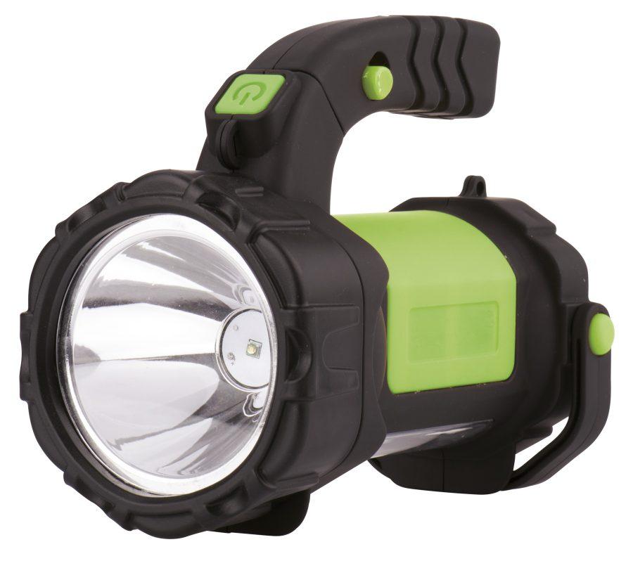 Emos LED svítilna nabíjecí 3W CREE + 12x LED, odolná (E208A)