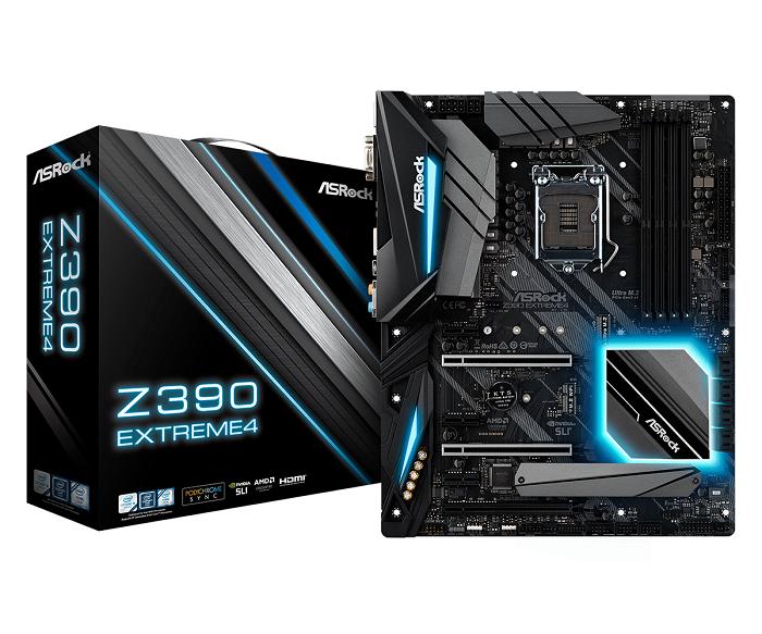 ASRock Z390 EXTREME4, 4x DDR4, 8x SATA III