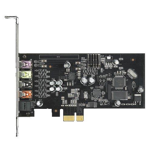 Asus Xonar SE 5.1 PCIe gaming sound card, 192kHz/24-bit hi-res audio, 116dB SNR
