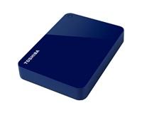 "TOSHIBA HDD CANVIO ADVANCE 3TB, 2,5"", USB 3.0, modrý"