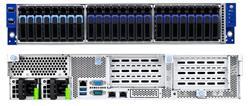 """TYAN Transport SX 2U server 1x SP3, 16x DDR4 ECC R, 24x 2,5"""" (16 SATA,8 U.2), 2x770W (plat.), 2x 1Gb LAN + OCP, IPMI"""