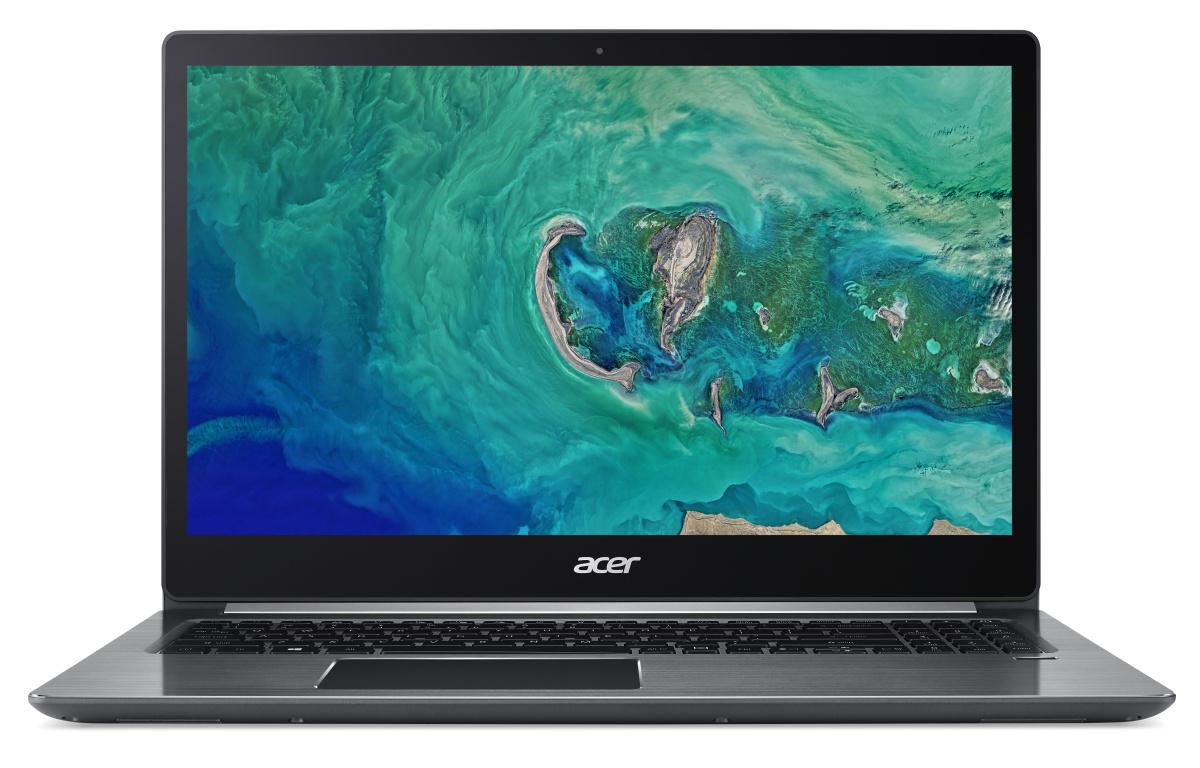 "Acer Swift 3 (SF315-41-R26T) AMD Ryzen 5 2500U/8GB OB/512GB SSD+N/15.6"" FHD IPS LCD lesklý/Radeon Vega 8 Graphics/W10 Home/Gray"
